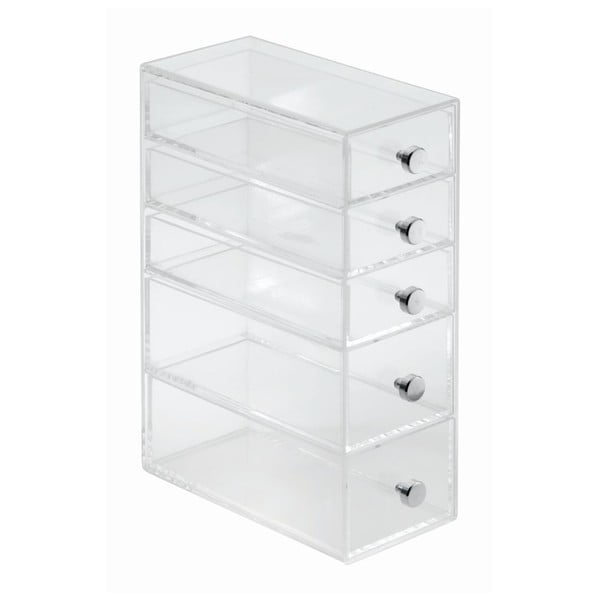 Organizér InterDesign 5 Drawer Tower, 9 x 18 cm
