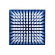 Koupelnová předložka Kolor My World VII 90x90 cm, modrá