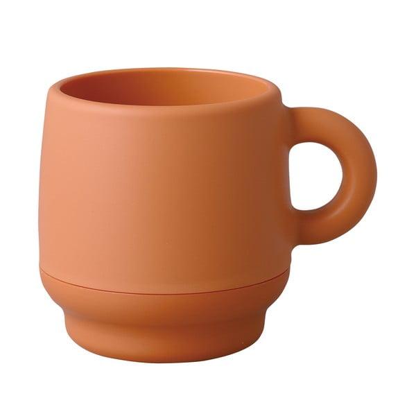 Dvojitý hrnek Juke, oranžový