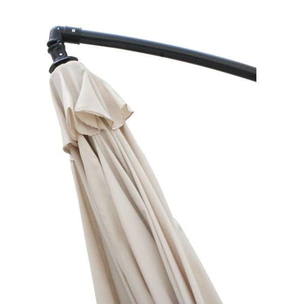 Slunečník Vetro 300 cm, béžový