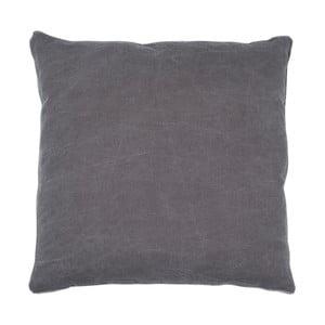 Antracitový polštář Walra Lunt, 45x45cm