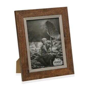 Ramă foto din lemn pentru fotografie Versa Madera Marron 15x20cm