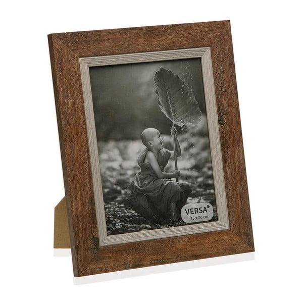 Dřevěný rámeček na fotografii Versa Madera Marron, 15x20cm