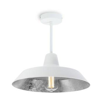 Lustră Bulb Attack Cinco Basic, alb - argintiu imagine