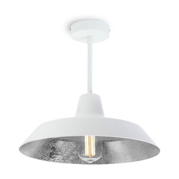 Lustră Bulb Attack Cinco Basic, alb - argintiu