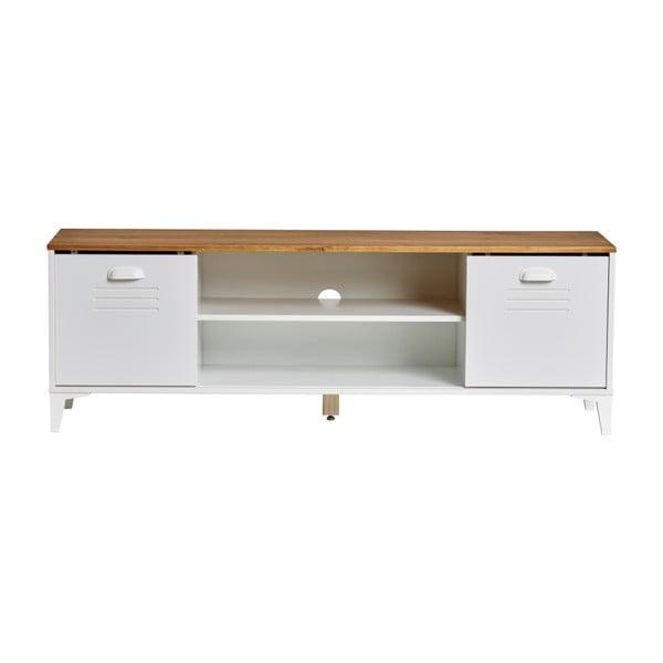 Zack fehér TV-szekrény, szélesség 140 cm - Marckeric