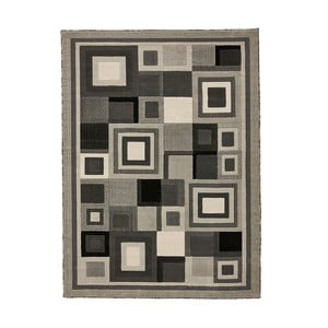 Šedý koberec Think Rugs Hudson, 60x120cm