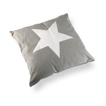 Pernă Versa Grey&White Stars, 45 x 45 cm imagine