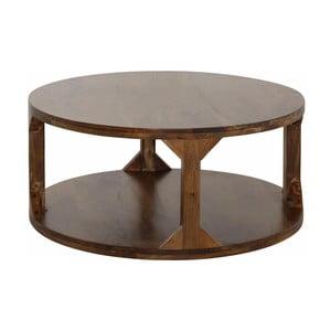 Konferenční stolek z mangového dřeva Støraa Misha, průměr60cm