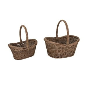 Sada 2 proutěných košíků Antic Line Paniers