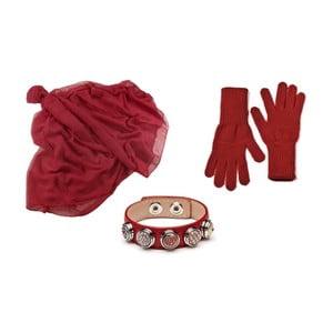 Sada rukavic, šály a náramku Lavaii Lota