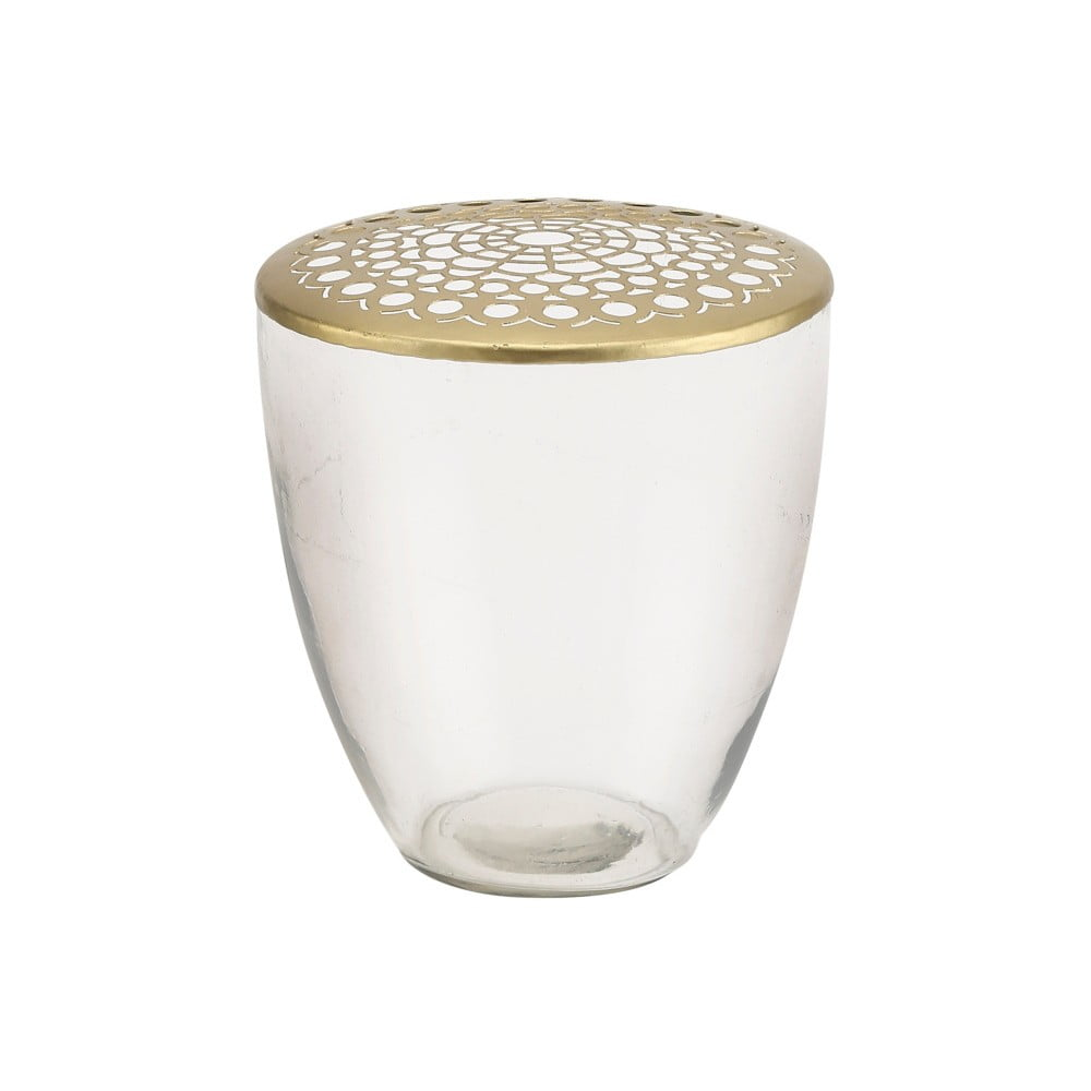 Dekorativní váza zlaté barvy A Simple Mess Kamelia, ⌀16cm A simple Mess
