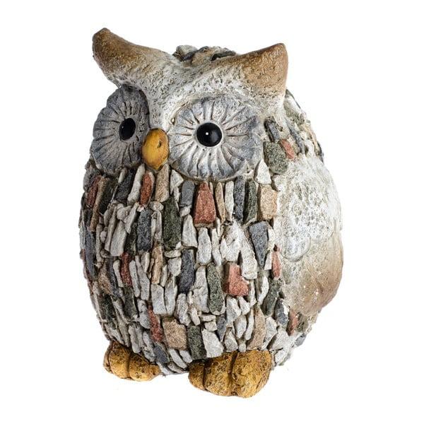Garden Deco Owl With Stones kerti dekoráció, magasság 22 cm - Dakls