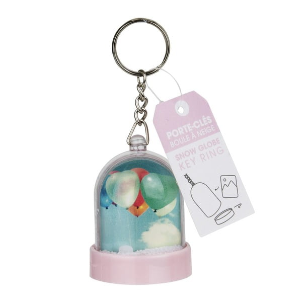 Přívěšek na klíče ve tvaru sněžítka na vlastní fotografii Le Studio Photo Boule