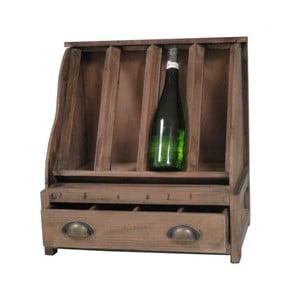 Dřevěný stojan na víno Antic Line Wooden