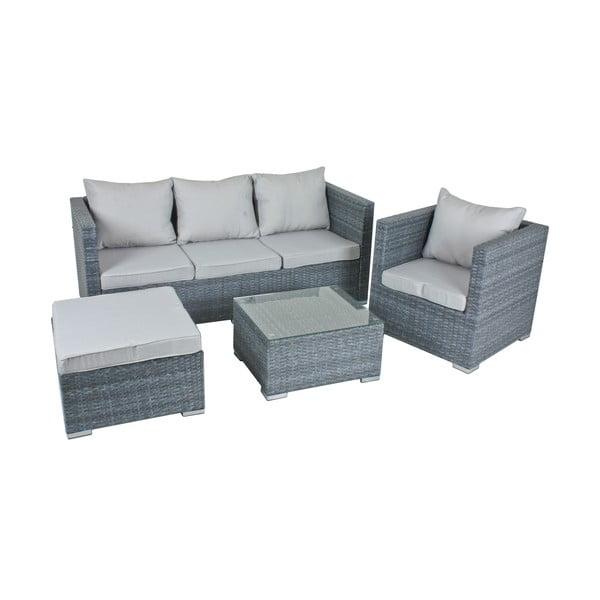 Kerti kanapé, szék és asztal szett - ADDU