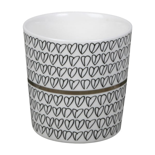 Hrnek Heart Mug Silver