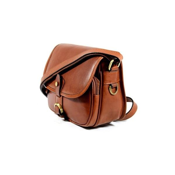Kožená kabelka Santo Croce M6806 Brown