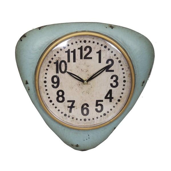 Modré nástěnné hodiny Antic Line Blue Vintage
