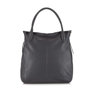 Kožená kabelka Elegance Simple Grey
