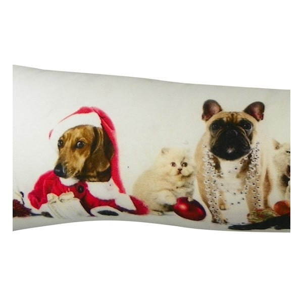 Polštář Christmas Animals Mix 20x90 cm
