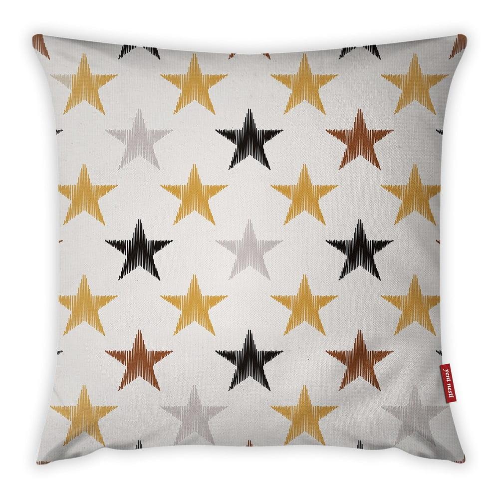 Povlak na polštář Vitaus Christmas Period Stars Pattern, 43 x 43 cm