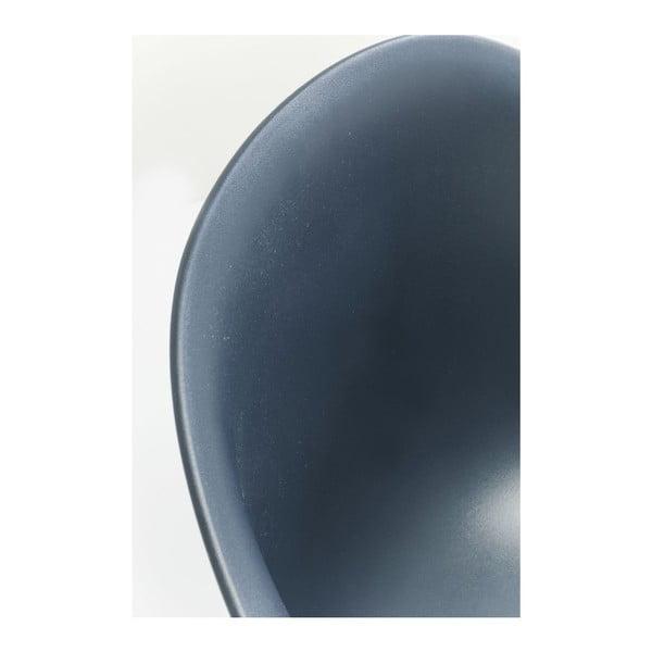 Sada 4 šedých jídelních židlí Kare Design Forum Object