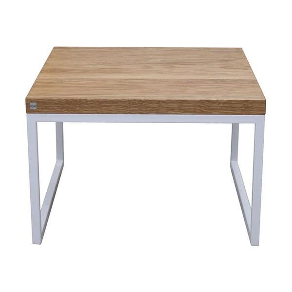 Odkládací stolek Bergen White