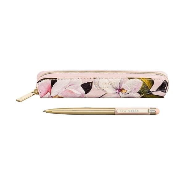 Ružové puzdro a pero na displej Ted Baker Touch Screen