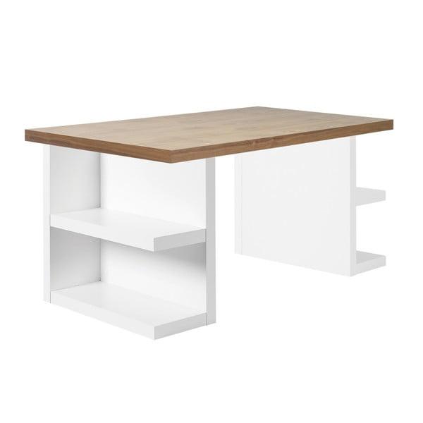 Multi barna íróasztal, hosszúság 160 cm - TemaHome