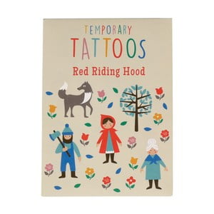 Sada tetování s motivem Červené Karkulky Rex London Red Riding Hood