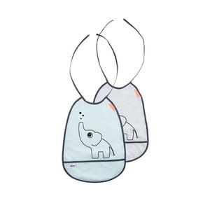 Set 2 babete Done by Deer Elphee, gri și albastră