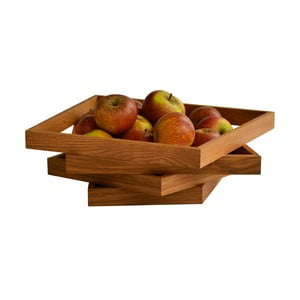 Mísa na ovoce Oblique, dub