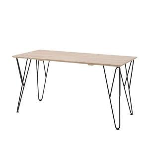 Pracovní stůl z masivního borovicového a březového dřeva Vipack William, 70 x 75 cm