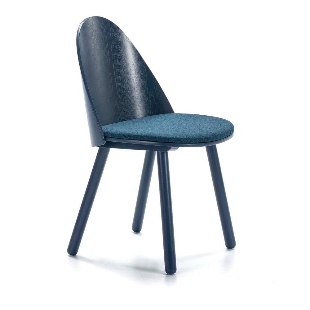 Modrá židle Teulat Uma
