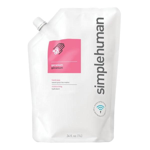Hydratační tekuté mýdlo s vůní pelargónie simplehuman