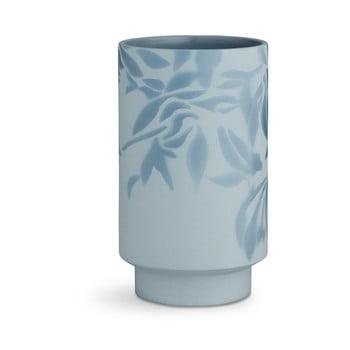 Vază din ceramică Kähler Design Kabell, înălțime 19 cm, albastru deschis de la Kähler Design