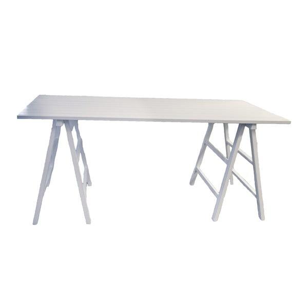 Bílý dřevěný stůl Interiörhuset Samira