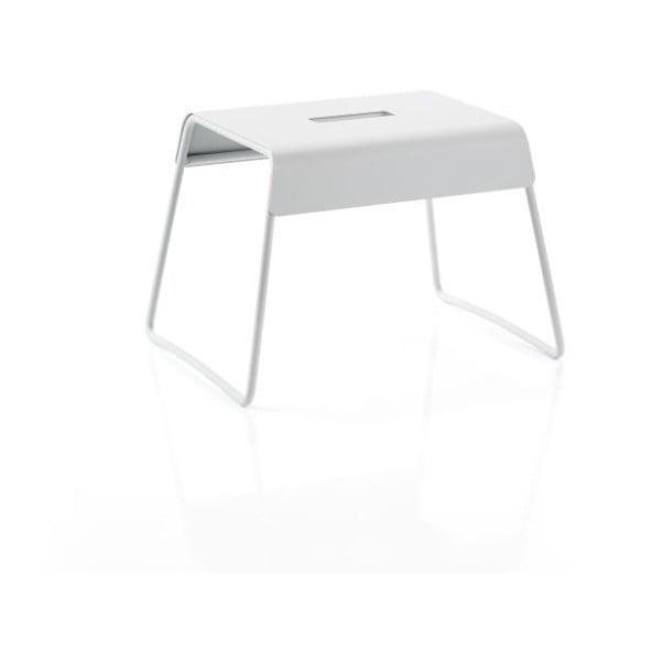 Světle šedá ocelová stolička Zone A-Stool