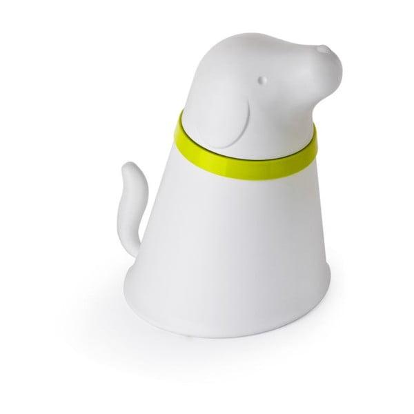 Miska se zásobníkem pro psy QUALY Pupp, bílá