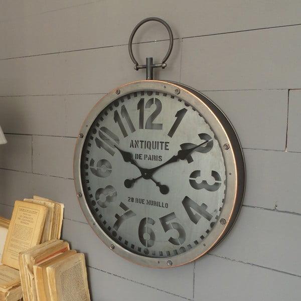 Nástěnné hodiny Orchidea Milano Industrial