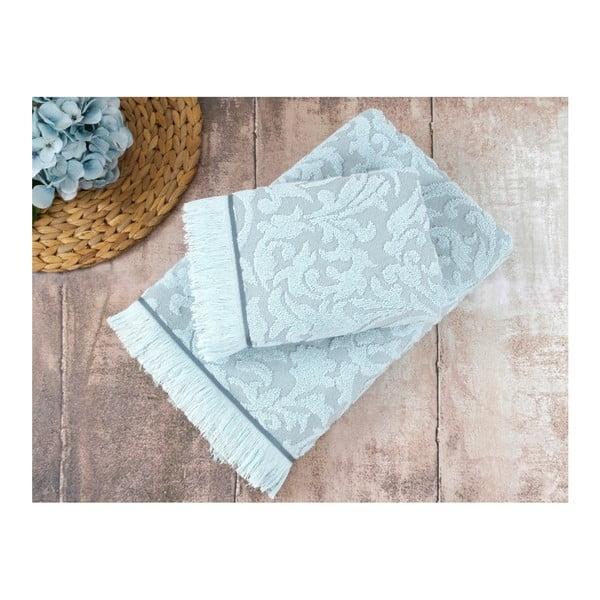 Sada 2 modrých ručníků Irya Home  Royal, 50x90 cm