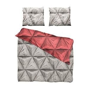 Povlečení Monogami Red 200 x 220 cm