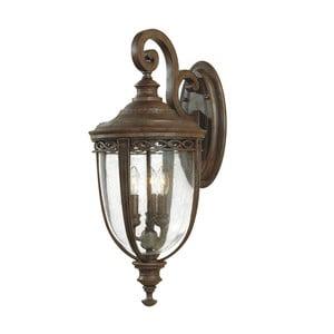 Nástěnné svítidlo v bronzové barvě Elstead Lighting English Bridle Uno