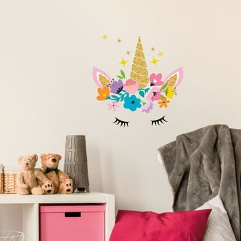 Set autocolante pentru perete Ambiance Magic Unicorn imagine
