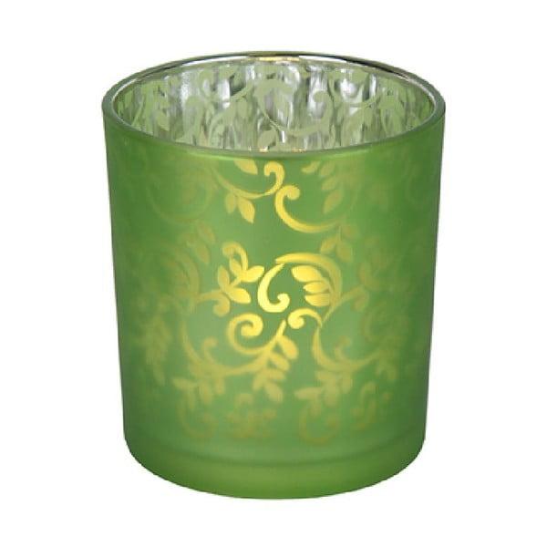 LED lucernička Glassie, zelená