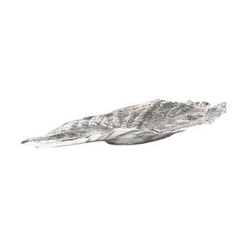 Frunză decorativă Kare Design Bowl Leaf, argintiu de la Kare Design