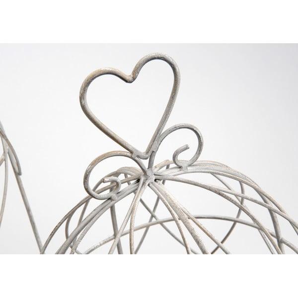 Sada 2d dekorativních klecí Heart Cages