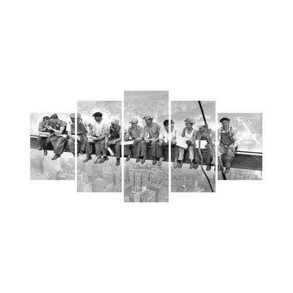 Vícedílný obraz Black&White no. 28, 100x50 cm