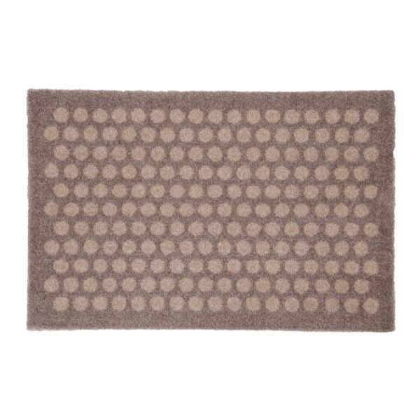 Hnědobéžová rohožka Tica Copenhagen Dot, 40x60cm